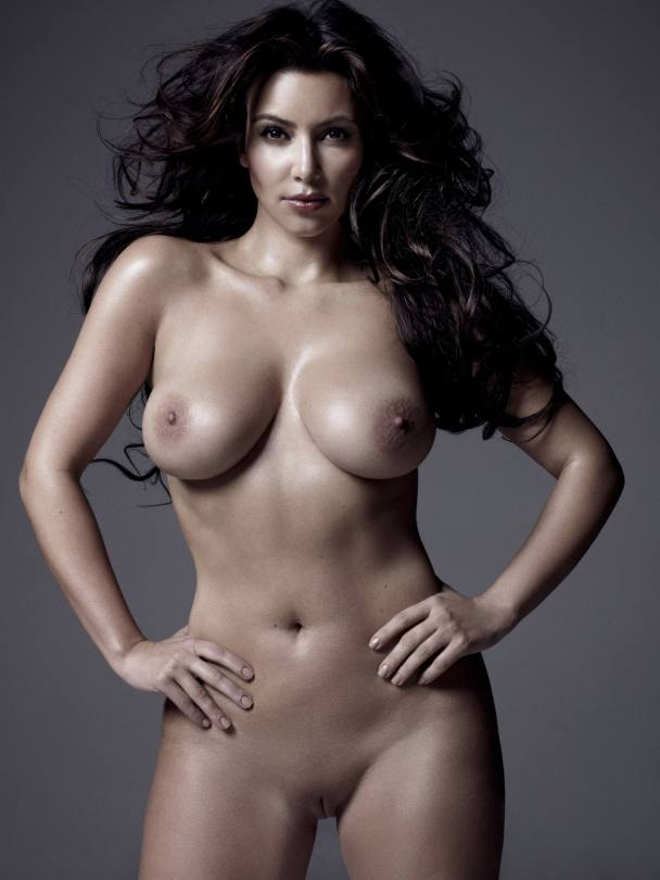 Kim Kardashain Full Frotnal Nudity