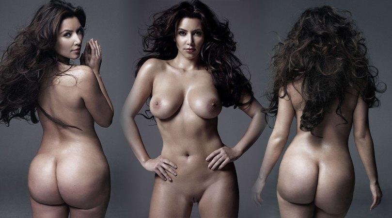 Kim Kardashian Fully Nude Pics