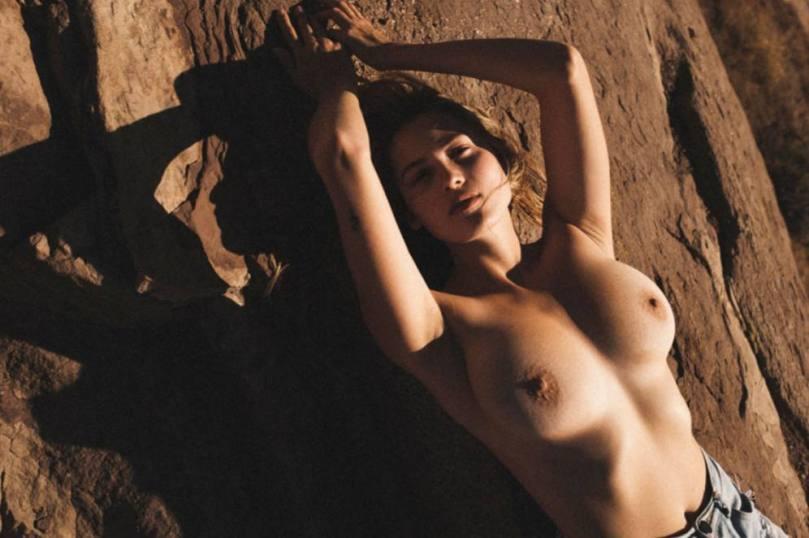 Megan Moore Topless