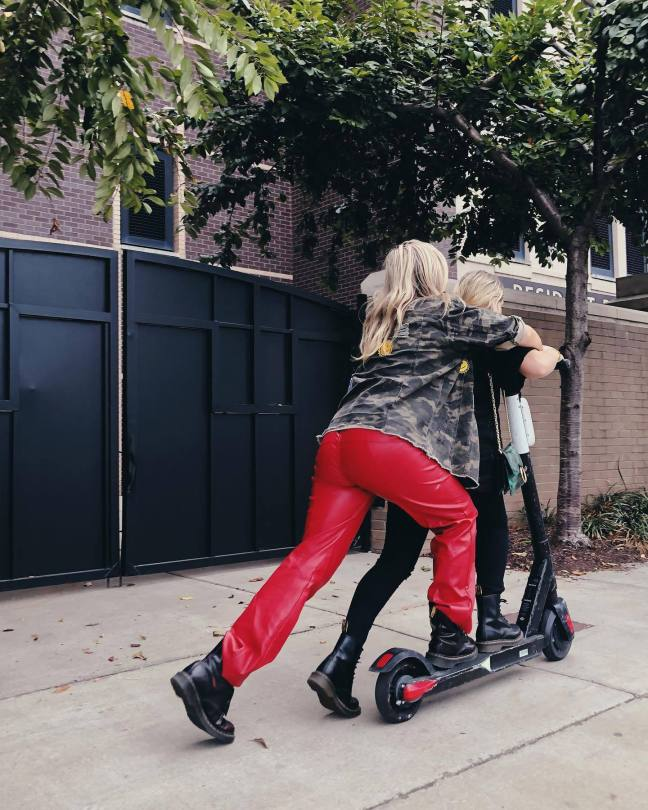 Natalie Alyn Lind Hot Ass In Red Pants