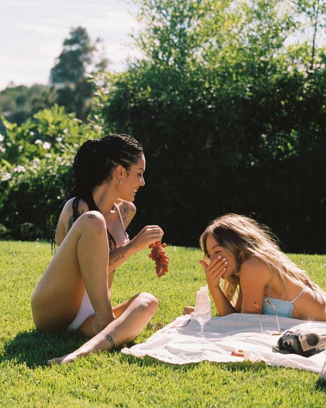 Sydney Sweeney And Halsey In Bikini