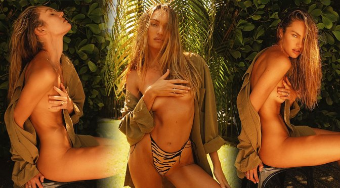 Candice Swanepoel – Sexy Body in Topless Photoshoot by Eduardo Bravin