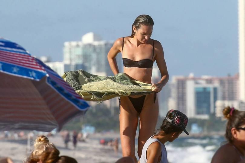 Candice Swanepole In Tiny Bikini