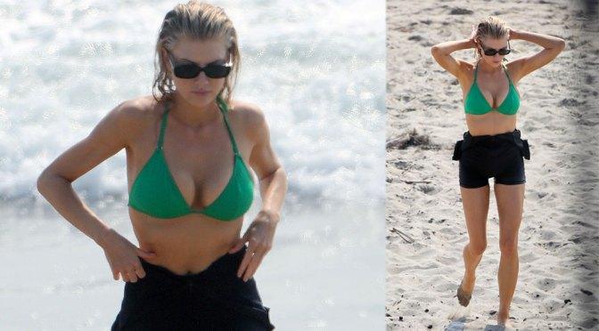 Charlotte Mckinney Hot Big Boobs In Bikini