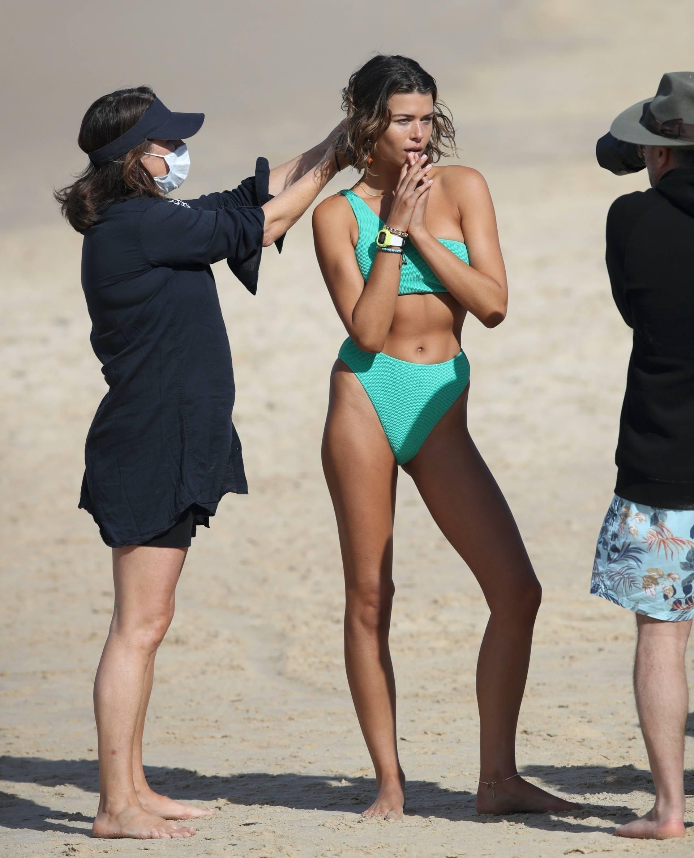 Georgia Fowler In Sexy Bikini