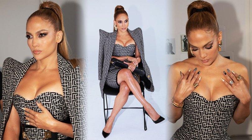 Jennifer Lopez Beautiful Boobs And Legs