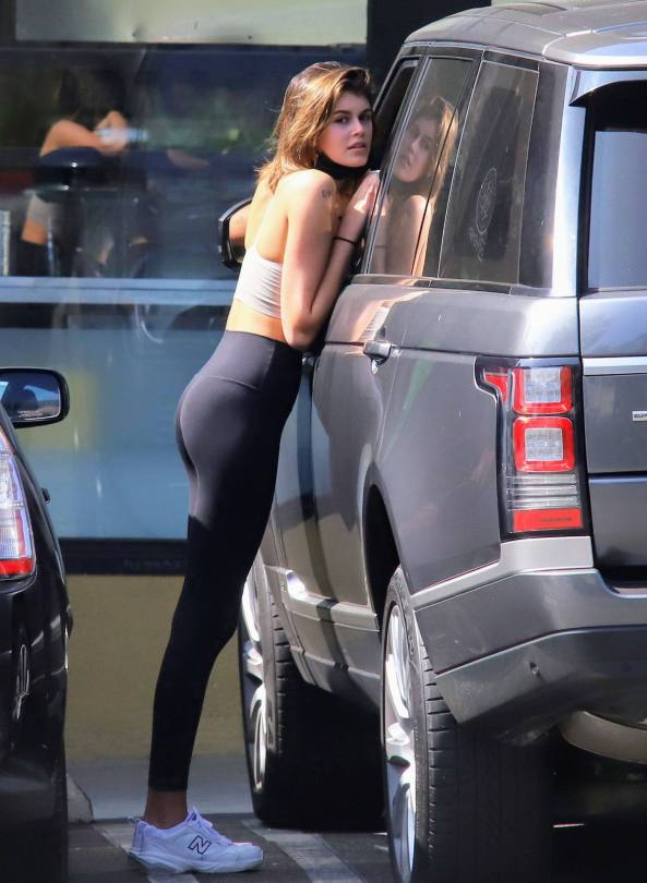 Kaia Gerber Beautiful Ass
