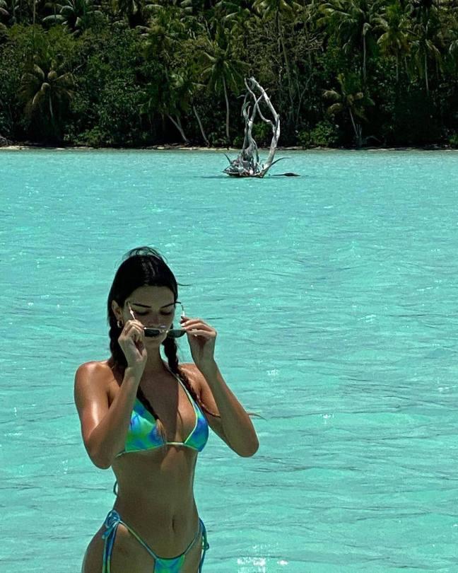 Kendall Jenner Sexy In Bikini