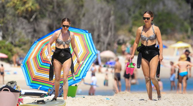 Natalie Portman Sexy On Beach