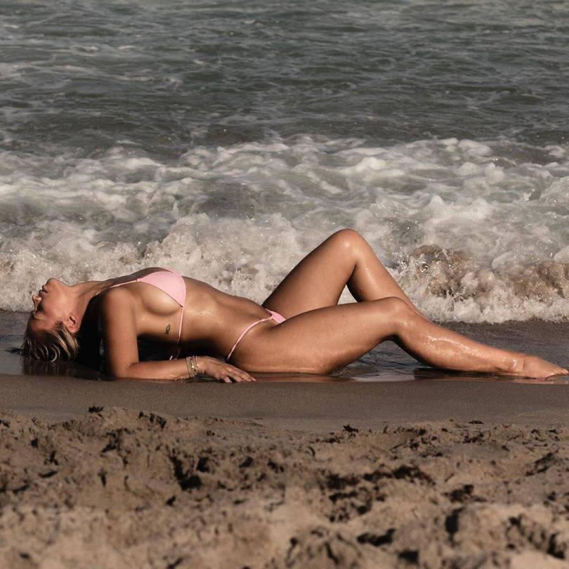 Paige Vanzant In Pink Bikini