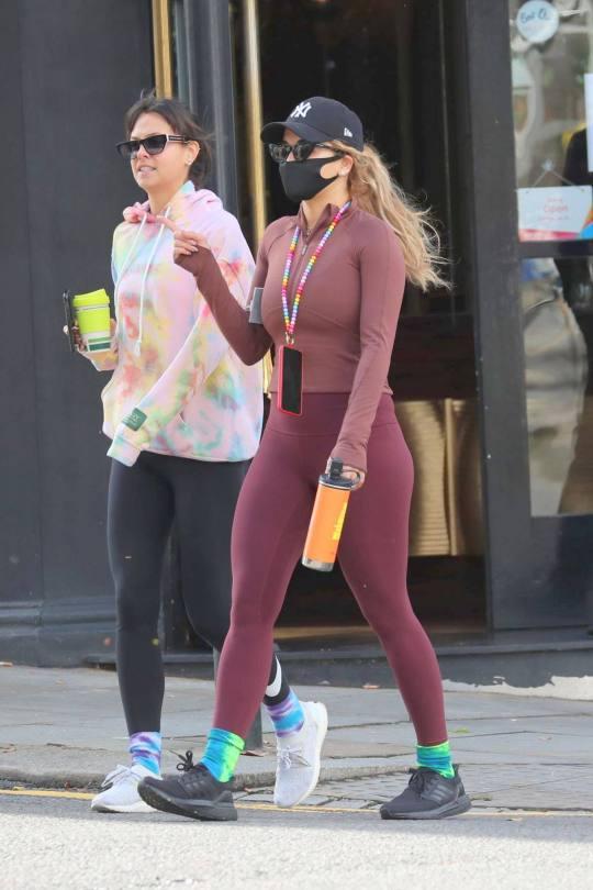 Rita Ora Sexy Leggings