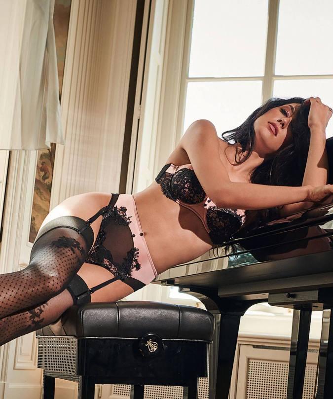 Rebecca Mir Hot Lingerie
