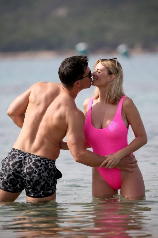 Rhian Sugden Sexy In Swimsuit