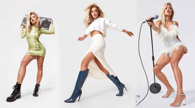 Rita Ora – Beautiful Legs in Sexy Photoshoot for ShoeDazzle