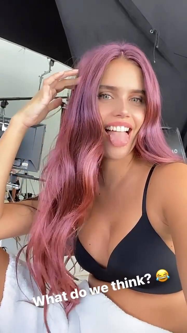 Sara Sampaio Beautiful Hair