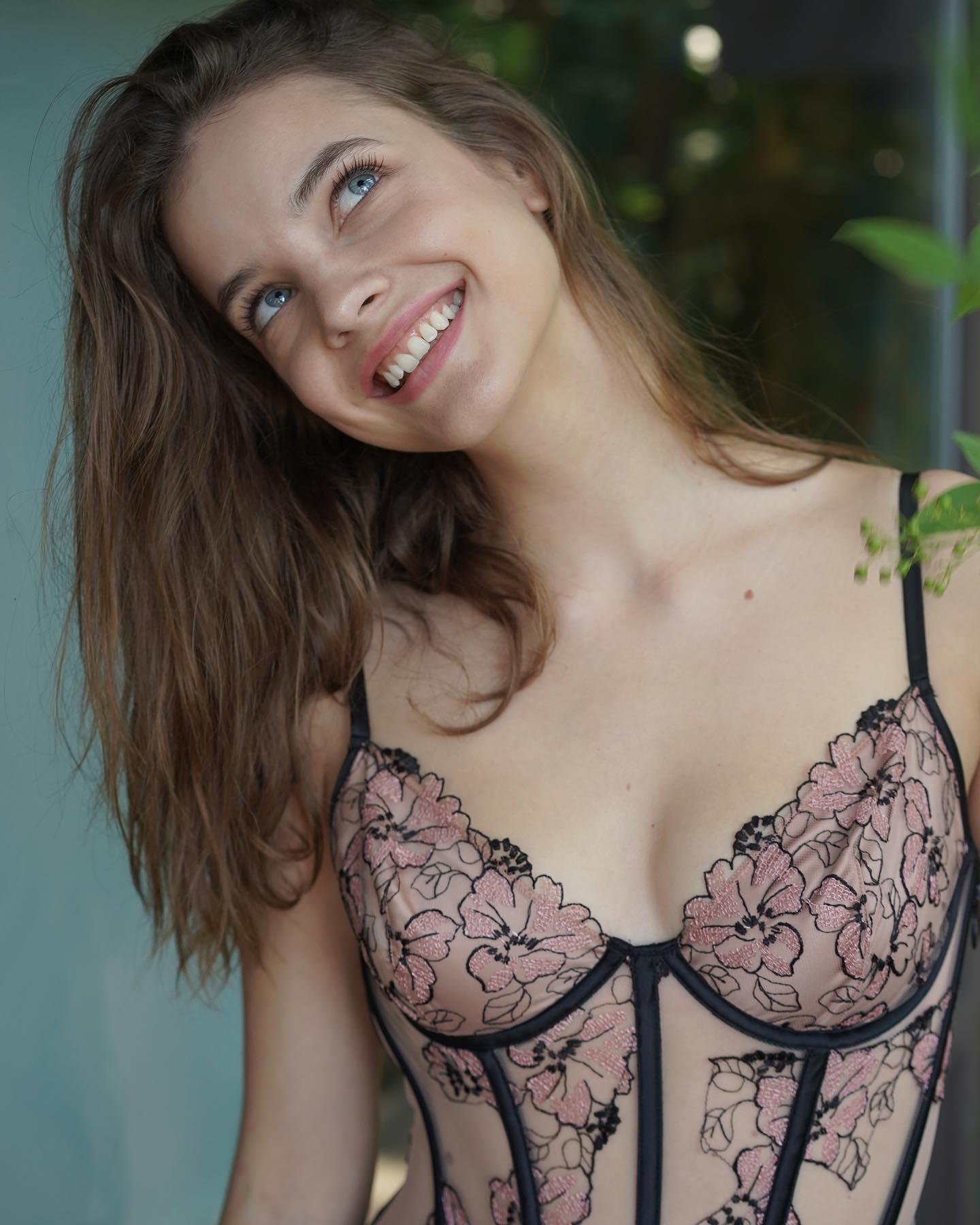 Barbara Palvin Beautiful In Lingerie