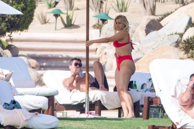 Bebe Rexha Hot In Red Bikini