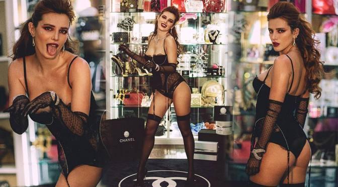 Bella Thorne Hot Body In Lingerie
