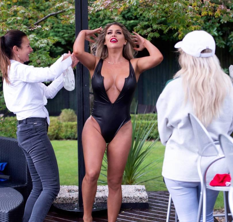 Bianca Gascoigne Hot Big Boobs