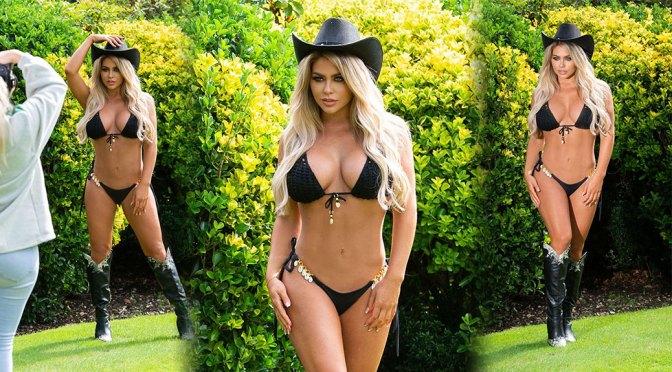 Bianca Gascoigne Hot Body In Bra And Panties