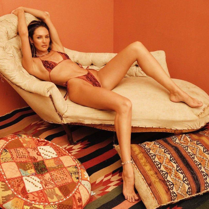 Candice Swanepoel Sexy Tiny Bikini