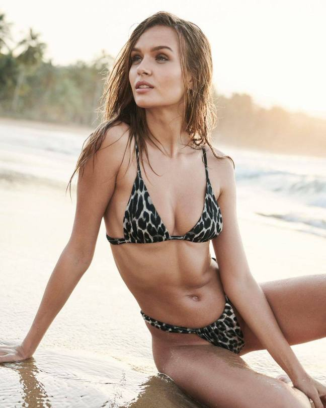 Josephine Skriver Sexy In Bikini