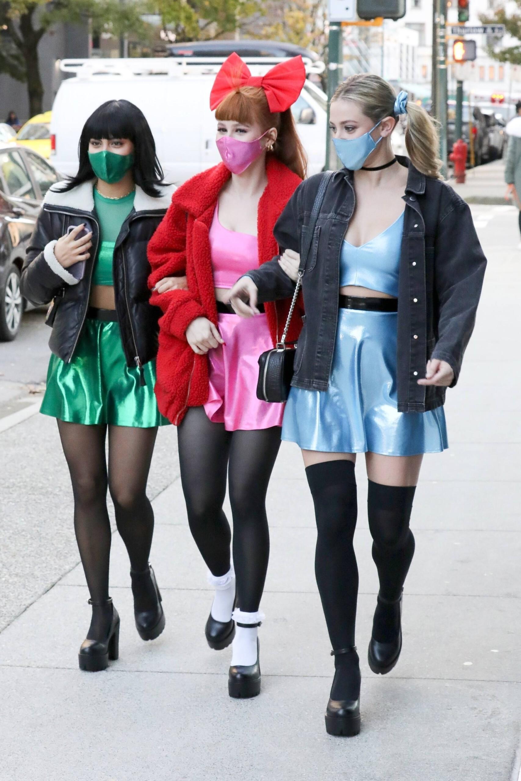 Lili Reinhart Camila Mendes Madelaine Petsch Sexy Powerpuff Girls