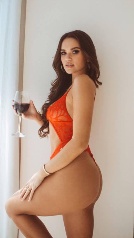 Madison Pettis Sexy Lingerie
