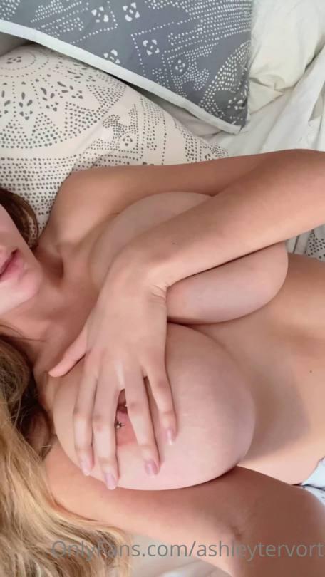 Ashley Tervort Huge Tits And Pierced Nipple