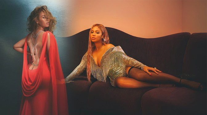 Beyonce – Beautiful Big Boobs in Sexy Photoshoot for Vogue UK Magazine (December 2020)