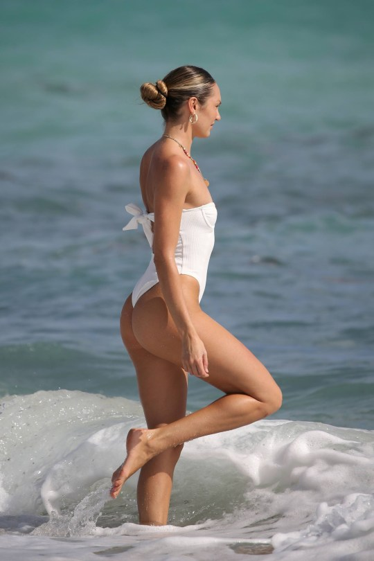 Candice Swanepoel In Swimsuit