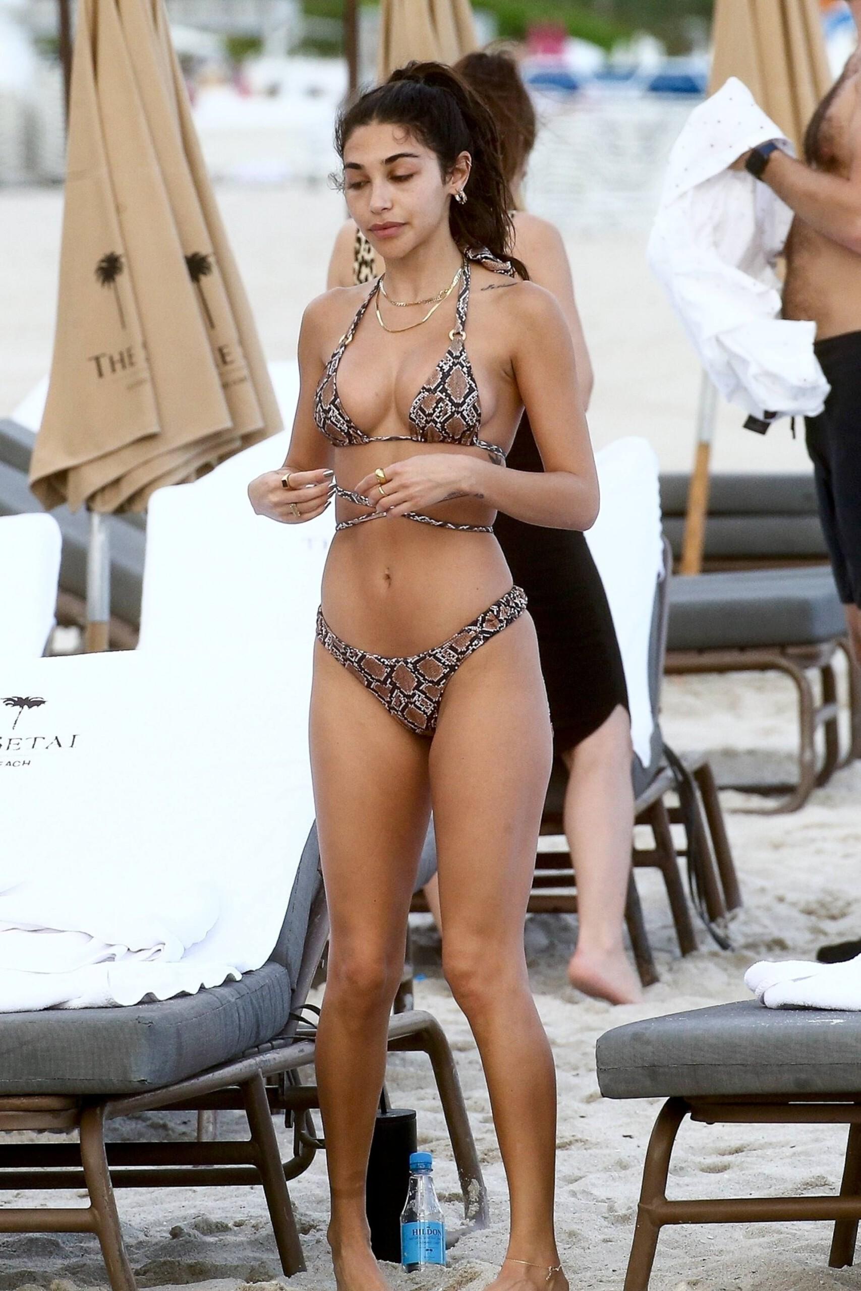 Chantell Jeffries Sexy In Bikini