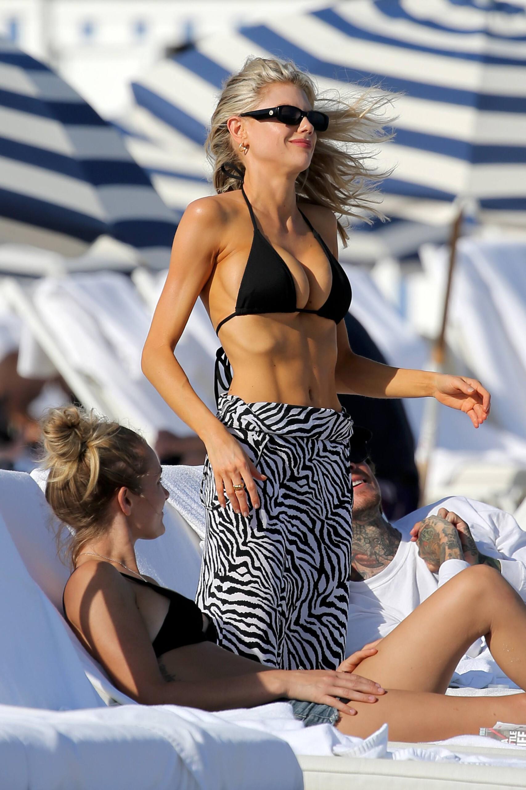 Charlotte Mckinney Sexy In Bikini