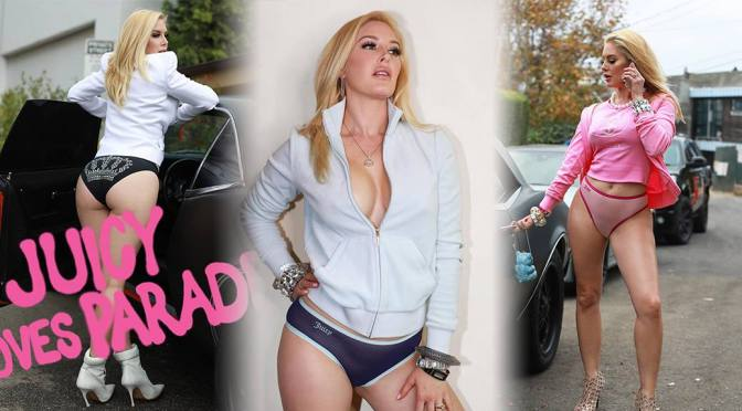 Heidi Montag – Sexy Ass in Juicy Couture and Parade Underwear Photoshoot