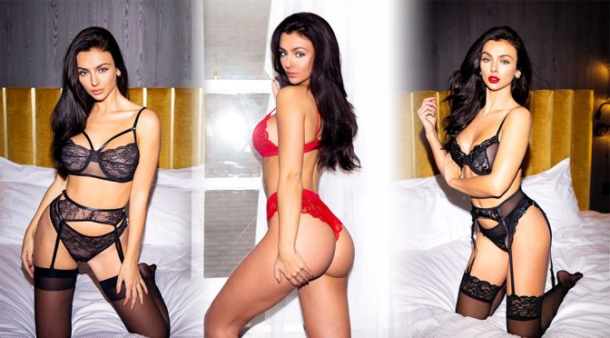 Kady McDermott – Beautiful Body in a Sexy Lingerie for Nikki Intimates Photoshoot