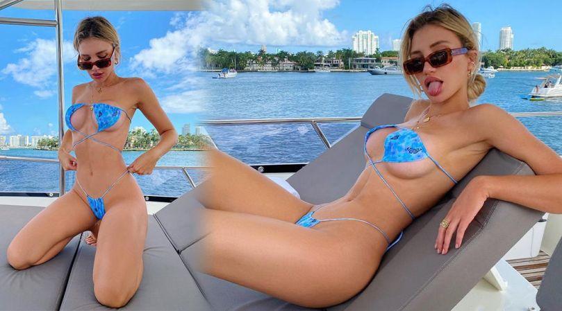 Gabby Epstein Beautiful Body In Tiny Bikini