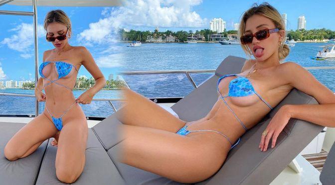 Gabby Epstein – Hot Body in a Skimpy Thong Bikini