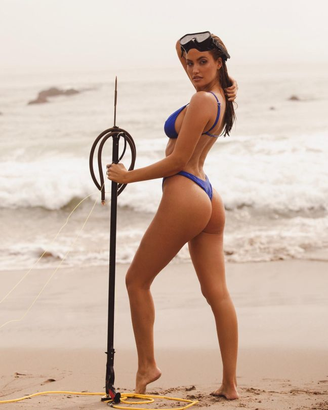 Haley Kalil Beautiful Ass On Beach