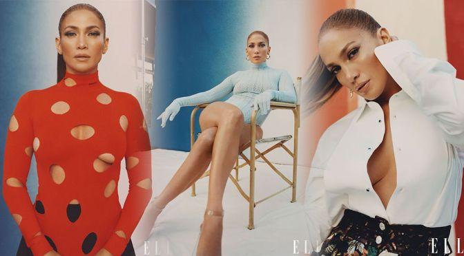 Jennifer Lopez – Gorgeous Body in a Beautiful Photoshoot for Elle Magazine (February 2021)
