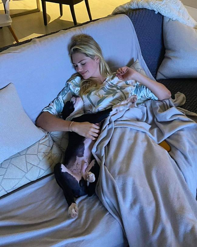 Kate Upton In Bed