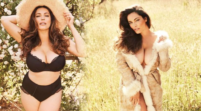 Kelly Brook – Amazing Huge Boobs in a Beautiful Photoshoot by Elisabeth Hoff