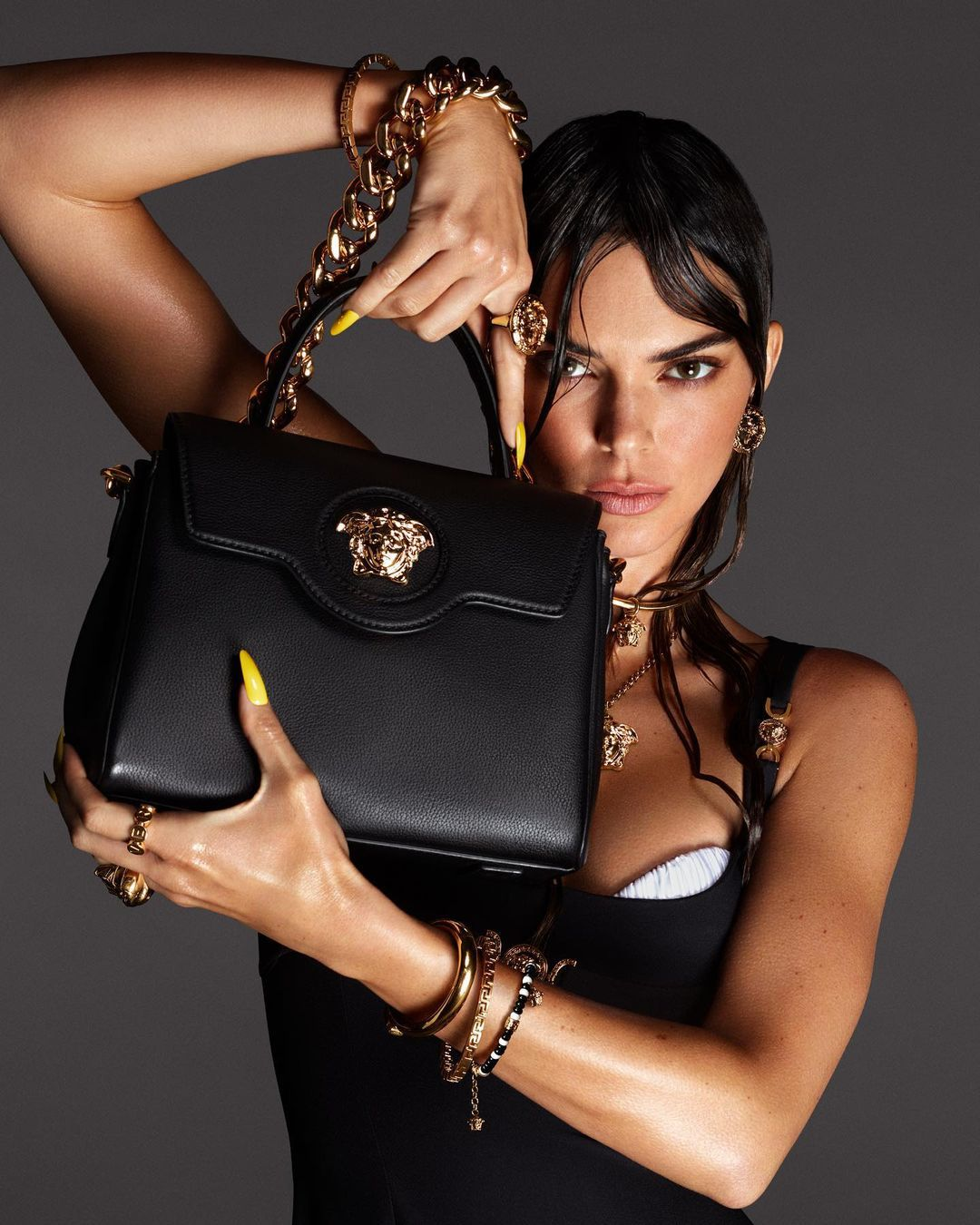 Kendall Jenner Beautiful For Versace