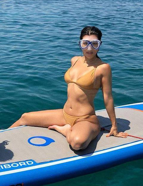 Kourtney Kardashian In Bikini