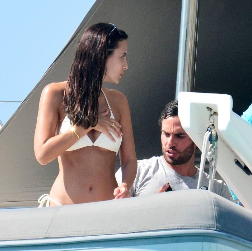 Lucy Watson Sexy Thong Bikini