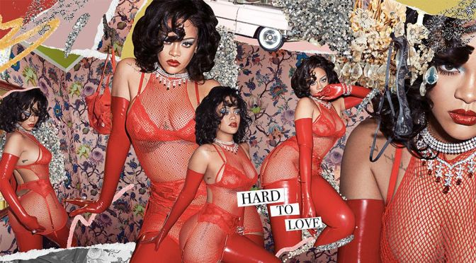 Rihanna – Spectacular Body in a Sexy Sheer Savage X Fenty Red Lingerie