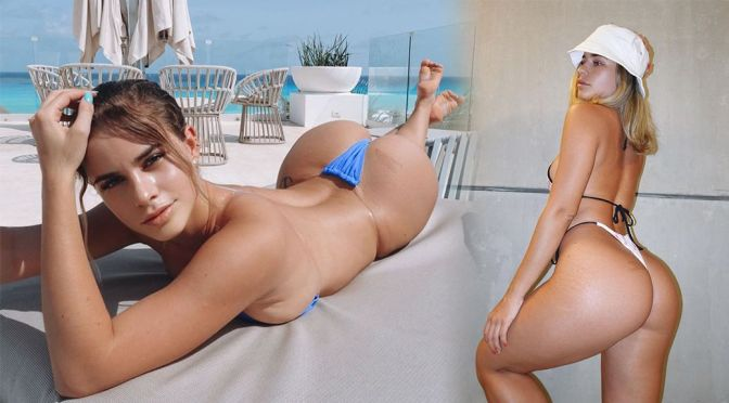 Yaslen Clemente – Magnificent Ass in a Sexy Bikini and Lingerie Photoshoot