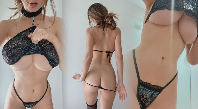 Ashley Tervort – Amazing Boobs and Ass in a Sexy Lingerie Photosohot
