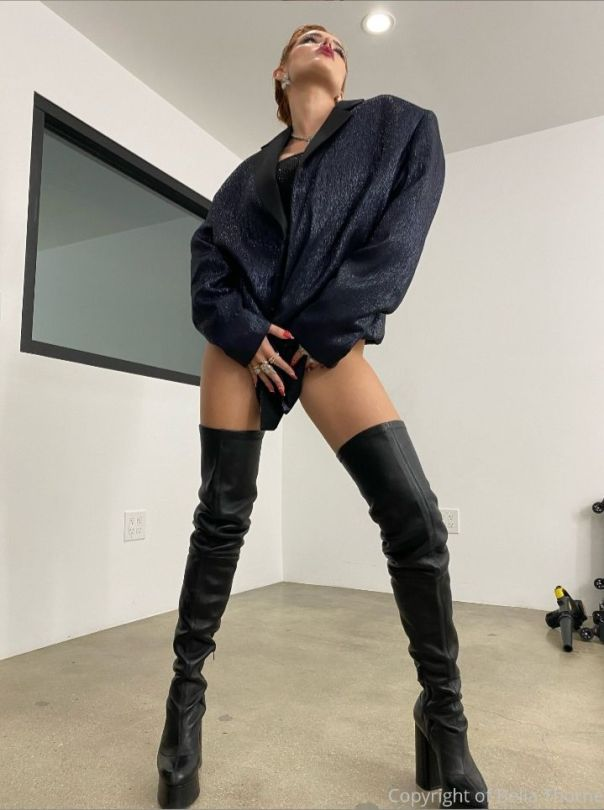 Bella Thorne Sexy Boots