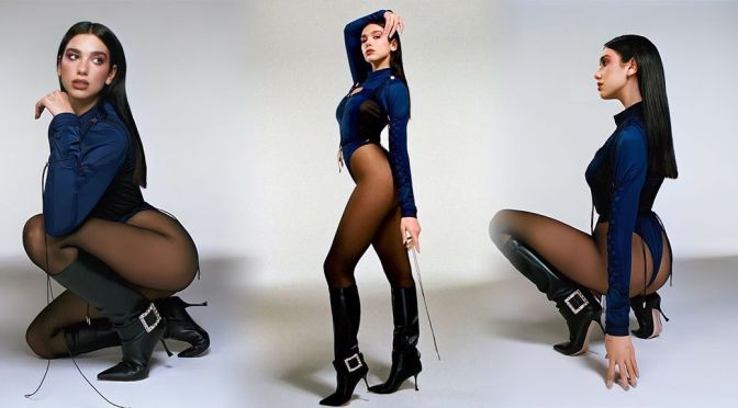 Dua Lipa – Stunning Legs in a Sexy Hugo Comte Photoshoot for Future Nostalgia (February 2021)