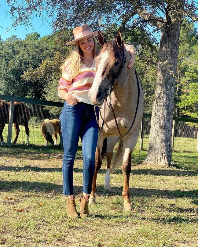 Kate Upton With Horse